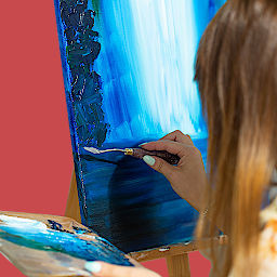 malowanie na kursie na ASP